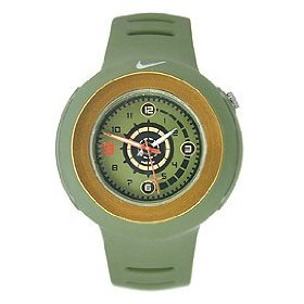 Nike Range Analog Watch - Nike Analog Range Watch - Green/Gold