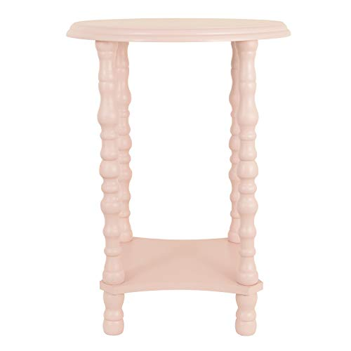 Décor Therapy FR9456 Side, end Table, Night Stand, Pink