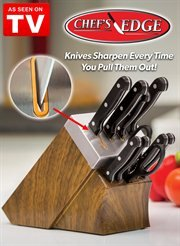 AMAZING Self Sharpening Cutlery Set SEEN