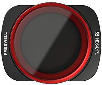 Freewell ND64/PL ハイブリッドカメラレンズフィルターレンズ DJI Osmoポケット対応