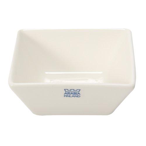 Arabia アラビア フィンランド北欧食器 ネロ ディッシュ 皿 NERO 64 1180 013941 0 Dish10 x 10cm white ホワイト 並行輸入品
