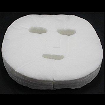 Generic 100/200/300 PCS Lady Nonwoven DIY Facial Mask Face M