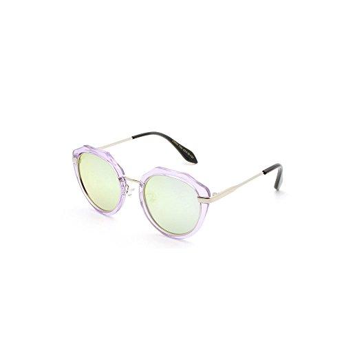 sports Lunettes conviennent Les soleil Lunettes de de sol UV soleil Lunettes plein enfants de aux pour lunettes plein montures aux résistantes cadre Purple air de de rondes polarisées soleil Hommes lunettes rYqwZRrB