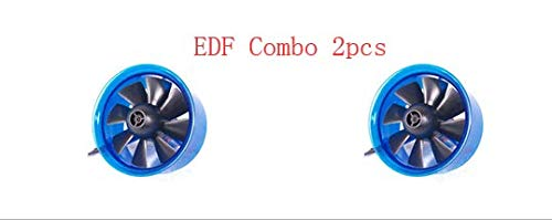 AF40314A JET Ducted Fan EDF Plus ADF40-200 Plus 8600KV w/ Brushless Motor 8 Fan Rotors 40mm Duted Fan Housing Power System for Radio Controlled JET; 1pcs or 2pcs for choice ()