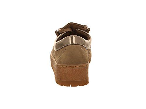 Mephisto Lady 886, Chaussures de ville à lacets pour femme Gris