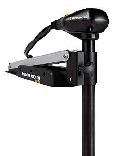 "MinnKota Edge 45 Bowmount Foot Control Trolling Motor with Latch and Door Bracket (45lbs thrust, 45"" Shaft)"
