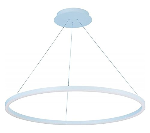 Cirque Collection Pendant (Matte White 39.75In. Wide Led Pendant From The Cirque Collection)