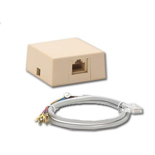 1 RJ31X PHONE JACK & CORD ADEMCO VISTA GE CONCORD ALARM (20 (Rj31x Cord)