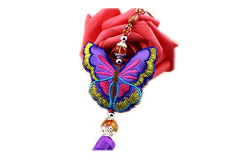 Flamingogogo Double Sided Embroidered Dragon Boat Festival Scented Sachet Perfume Bag Car Hang Small Fragrance -