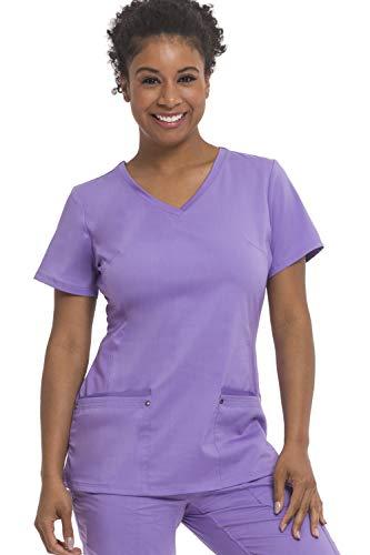 Purple Label Yoga Juliet 2245 V-Neck Scrub Top-Purple Haze-XS
