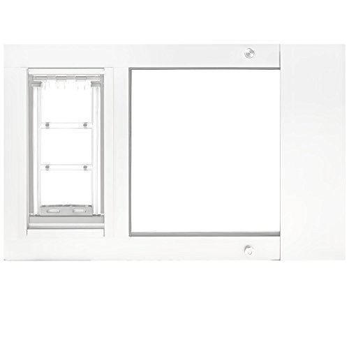Endura Flap Pet Door Thermo Sash 2e with Sureflap Microchip White Frame (22''25'') by Endura Flap