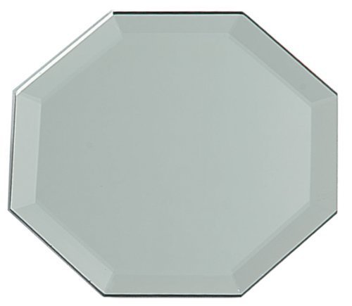 Darice Beveled-Edge Octagon 12 inches Mirror, Gray]()