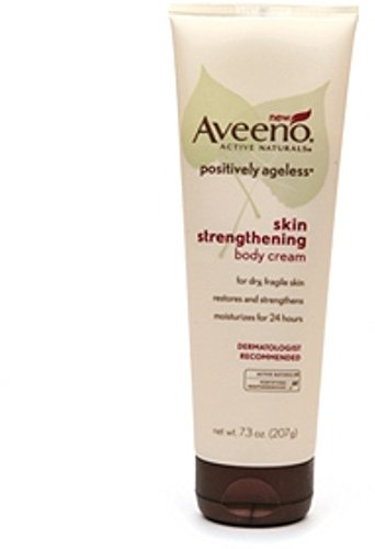 AVEENO Active Naturals Positively Ageless Skin Strengthening Body Cream 7.30 oz