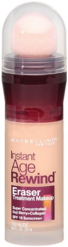 Maybelline New York Instant Age Rewind Eraser Treatment Makeup, Nude 190, 0.68 Fluid Ounce, Pack of 2 by Maybelline
