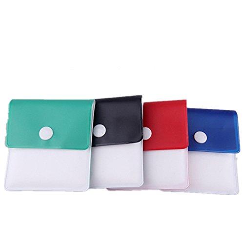 Olivia Pocket Ashtray Pouch Ash Bag -4 Pcs-Portable-Environment Friendly Reusable Ash Pocket Travel Pouch by Olivia