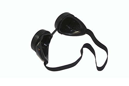 ABN Welders Goggles Welding Glasses Shade 5 Safety Glasses Welding Safety Glasses Oxy Acetylene Goggles no. 5 Black 1pk 4