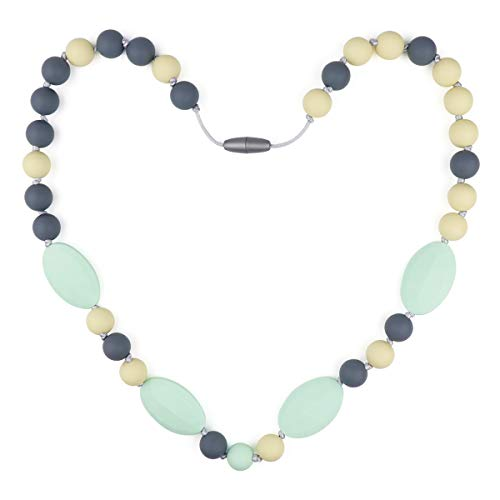 Baby Teething Necklace for Mom to Wear