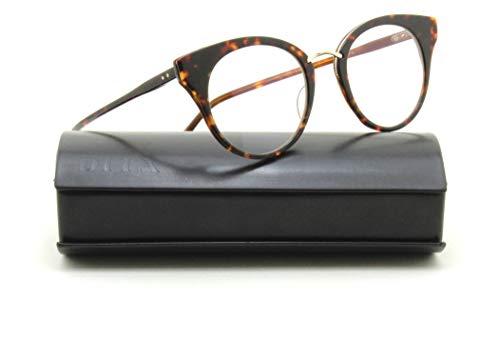 Dita DRX-3037-B RECKLESS Eyeglasses for Women Round Cat-Eye Frame ()