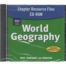 Amazon audio cd social studies instruction methods books world geography chapter resource files cd rom fandeluxe Gallery