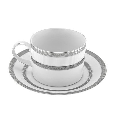 Sophia 8 oz. Teacup and Saucer [Set of 6]