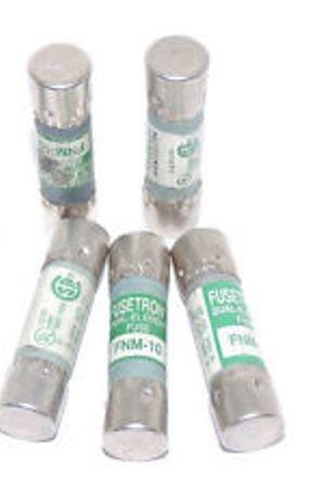 Fnm-10 Fuse Midget Time Delay (5 FUSES) - Fnm Midget Fuse