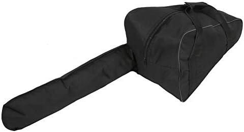 キットバッグ、チェーンソーキャリングバッグ木こり用の頑丈な防水オックスフォード布ポータブルバッグ(ブラック)