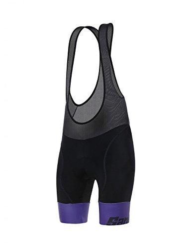 - Santini Women's Wave Bib Shorts, Violet, X-Large