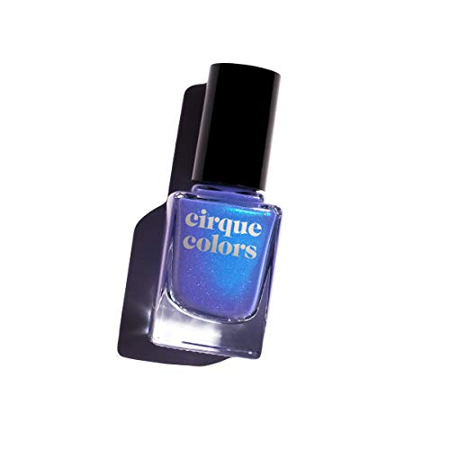 Shimmer Holographic (Cirque Colors Shimmer Holographic Sparkle Nail Polish - Dreamscape Collection - Nocturne - 0.37 fl. oz. (11 ml) - Vegan, Cruelty-Free, Non-Toxic Formula)