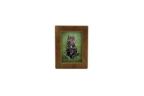 Near & Dear Pet Memorials MDF Photo Urn, 25 Cubic Inch, Natural ()
