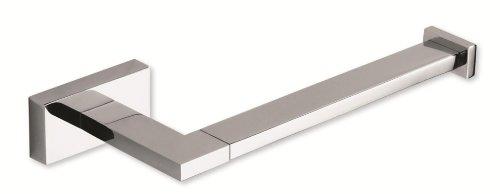 Atlas Homewares AXTP-CH Axel Toilet Paper Bar, Polished Chrome