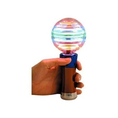 Meteor Storm Globe LED Kids Whirling Spinning Light up Toy Gift: Toys & Games