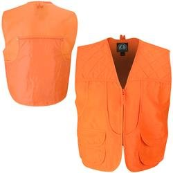 5ad1484f07721 Master Sportsman Men's Front Load Game Vest, Medium, Blaze Orange ...