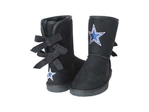 NFL Dallas Cowboys Women's Patron Boots, 9, Black