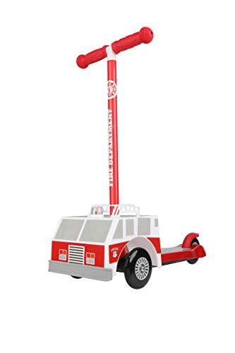 Amazon.com: Sakar Kids 3d Fire Truck Scooter: Sports & Outdoors