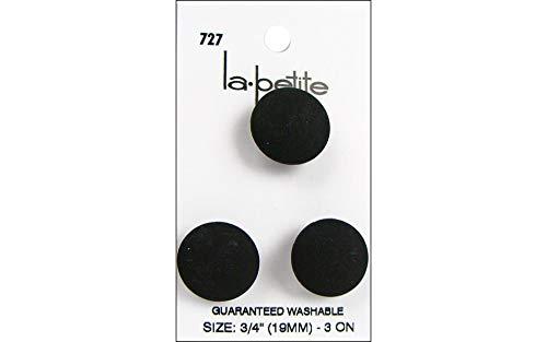 La Petite Black Shank Button ()
