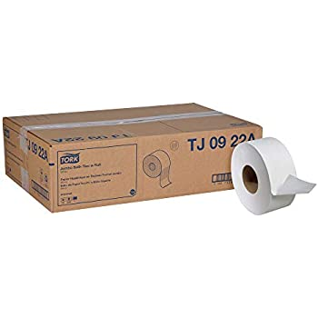 Tork Universal TJ0922A Jumbo Bath Tissue Roll, 2-Ply, 8.8