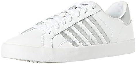 check out 95573 56d22 K-Swiss Belmont So Sneaker For Women,White & Silver,36 EU ...