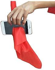 Atrumly Magic Trick, Magische Trucs Sjaal Door Telefoon Close-up Trucs Grappige Zijde Thru Telefoon Trick Speelgoed voor Magici Gag Speelgoed Party Prop