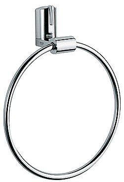 GROHE Ectos 20cm Towel Ring, Chrome 40257000 B000TFF9Z2