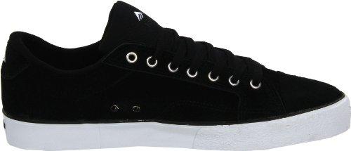 ante 6102000070 Zapatillas de LOW Emerica Black unisex HSU FUSION White skate Schwarz 2 de Negro SfxqSzZA