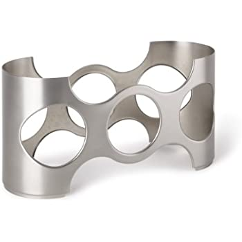 Napa Tabletop Wine Rack Finish: Nickel