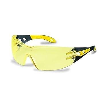 Uvex Arbeitsschutzbrille/Bü gelbrille 9192 pheos, gelb/schwarz, 1 Stü ck, 9192385 UVEX 9192/385