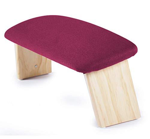 ecoYoga Banco Alto de meditacion tapizado y Plegable