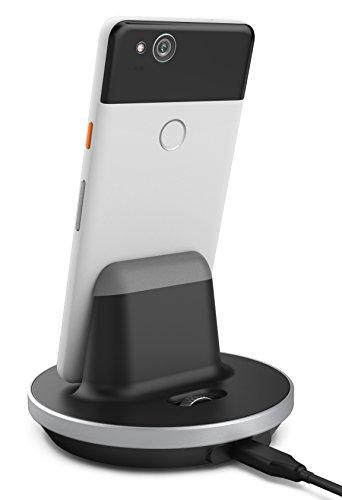 Google Pixel/Google Pixel 2 Desktop Charging Dock Encased - Type C Charger Pixel (Case Compatible) (Aluminum/Black) by Encased (Image #1)