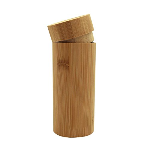 pour Bamboo les en bois soleil hommes les Lunettes femmes de Eyeglasses Case Awhao Box Handmade et PFqwP