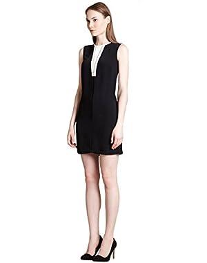 Calvin Klein Sleeveless Zip Front Dress, Black