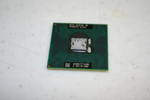 Intel Slgjl Pentium Dual-core Mobile T4400 Laptop CPU Socket P 2.2ghz 800mhz 1mb