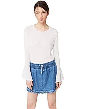 Mango Women's Denim Skirt