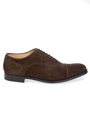 CHURCH'S Stringate Marrone Uomo Pelle GOODRICHSOFTSUEDEBROWN aaTfqFr