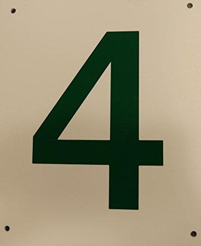 Tennis, Bocce, Golf Court Accessories - Tennis Court Numbers, 8